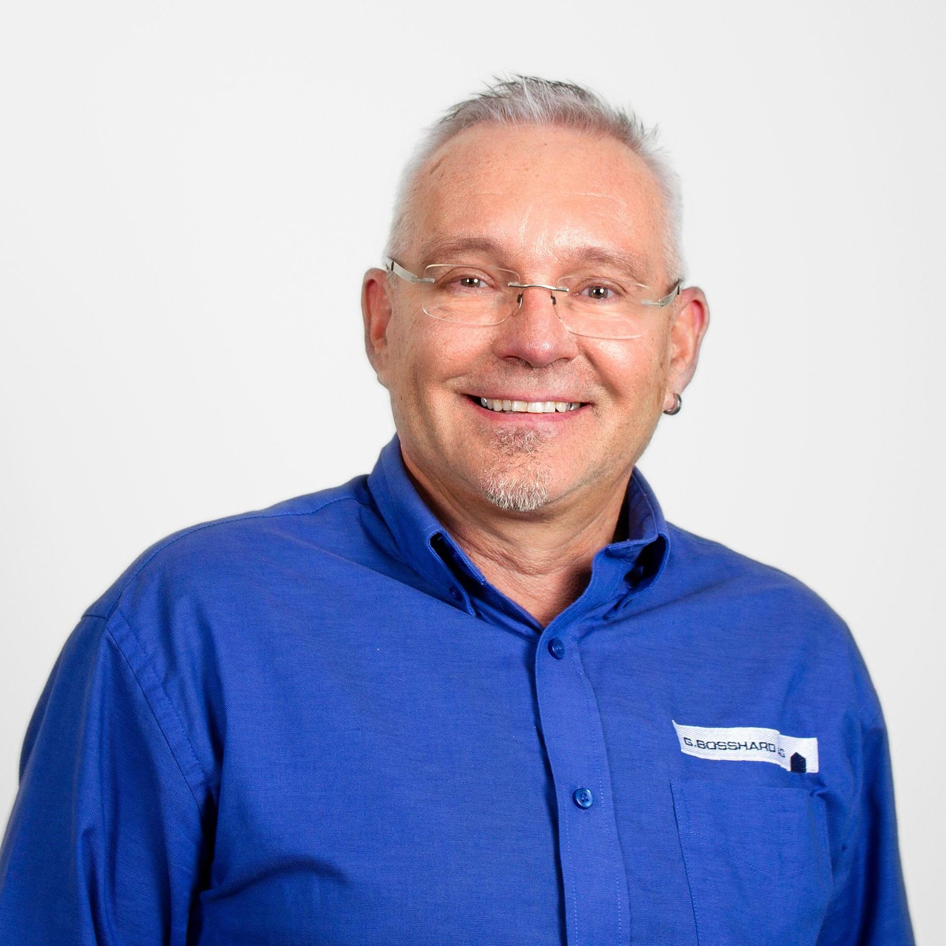 Edy Gisler : Leiter Unterhalt Sanitär